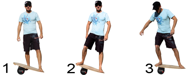Balance Board JUCKER HAWAII Homerider Training
